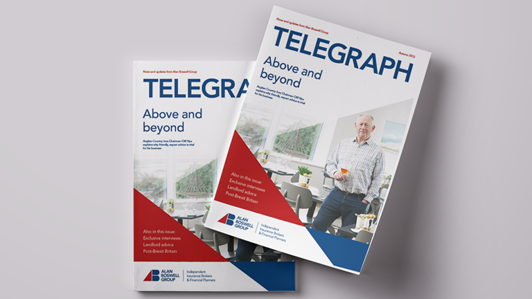 Telegraph magazine from Alan Boswell Group
