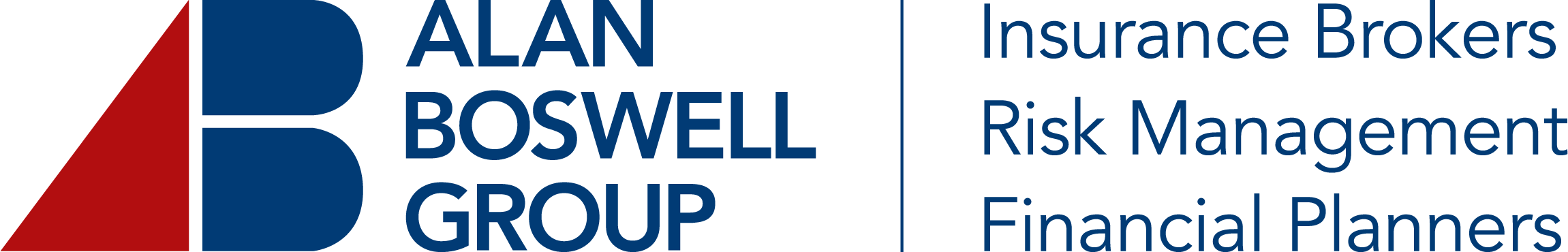 Alan Boswell Group logo with tag
