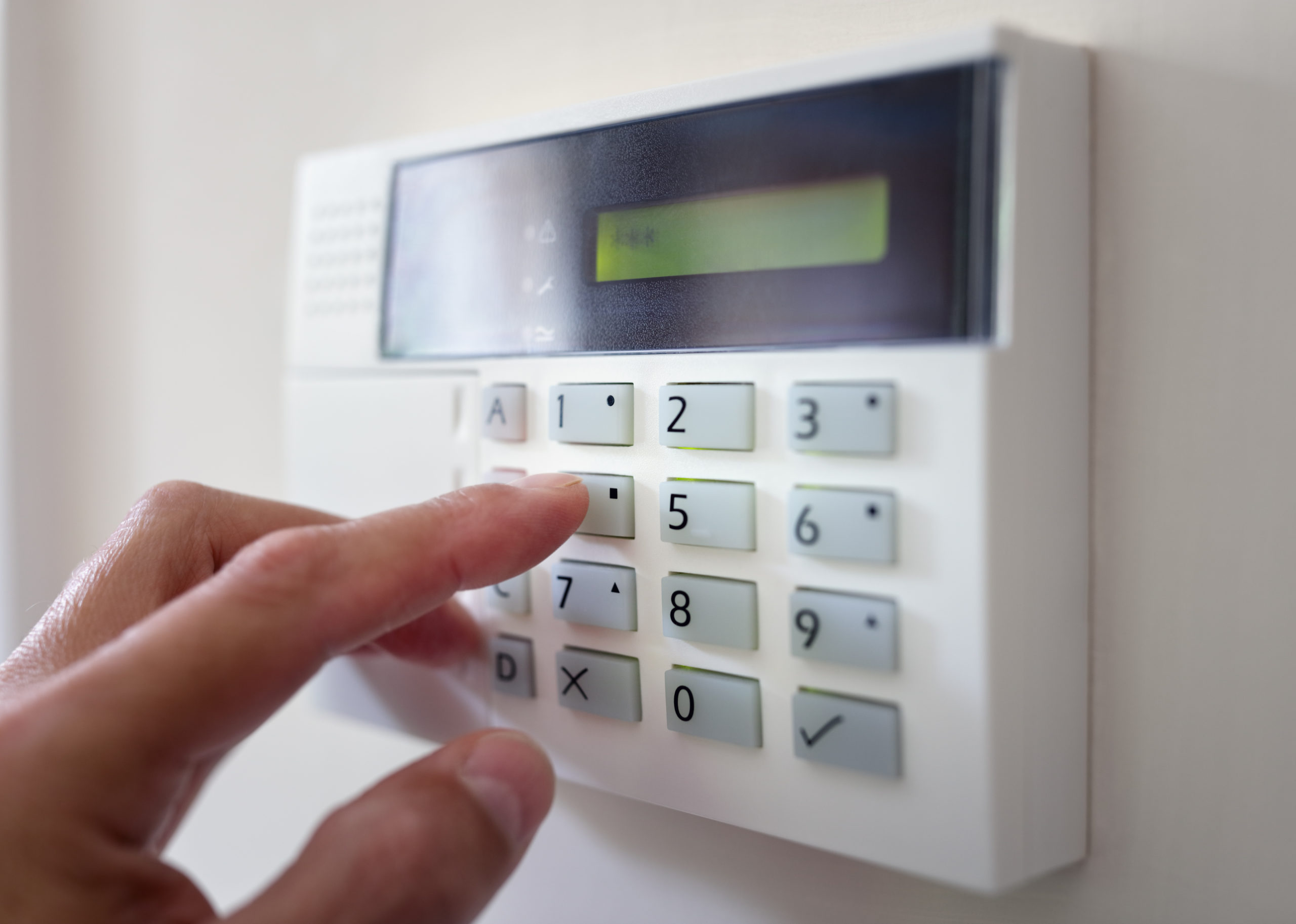 How to secure an empty property