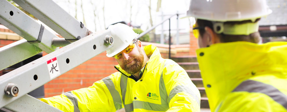 Working safely with equipment