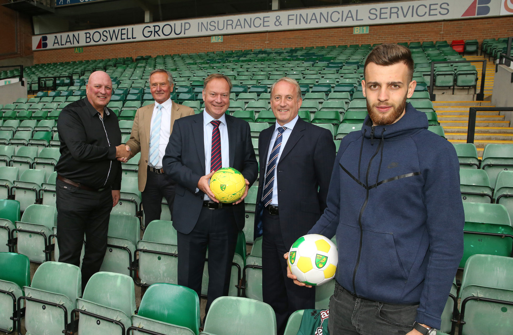 Alan Boswell Group sponsor Norwich City FC