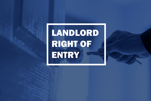 landlord right of entry