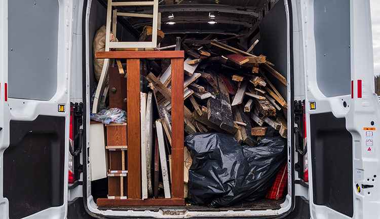 The dangers of overloading your van